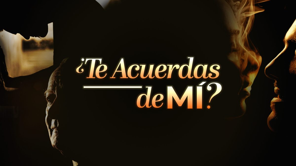 Do you remember me?  is the title of the new thing from Televisa.