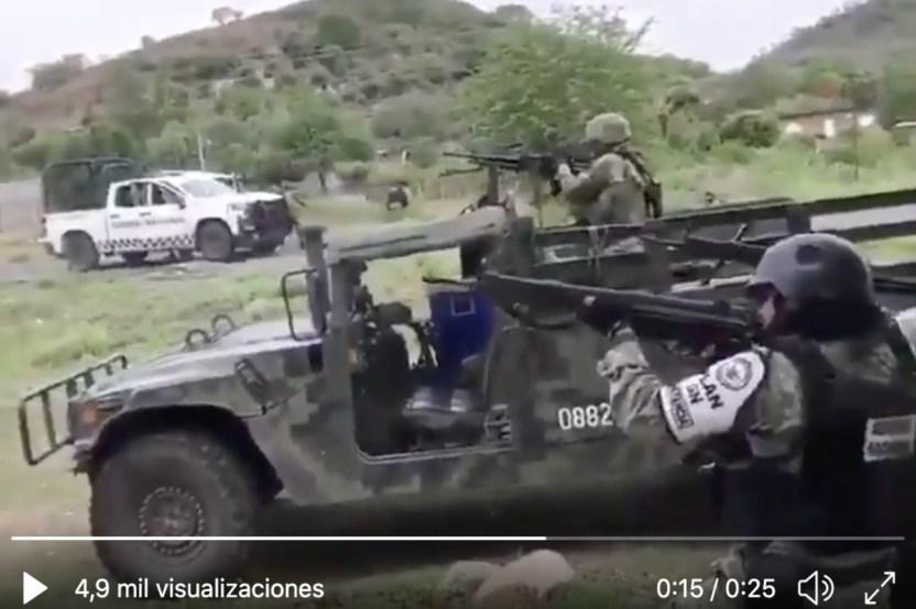 VIDEO  Así se defienden soldados mexicanos de emboscada de narcos - VIDEO: Así se defienden soldados mexicanos de emboscada de narcos