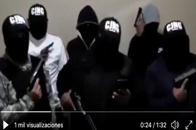 VIDEO  22Hasta al perro les vamos a matar22 la dura amenaza del CJNG - VIDEO: Sicarios atacan a Guardia Nacional en territorio del Mencho y 4 terminan muertos
