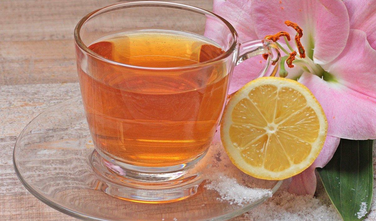 Hot lemonade.