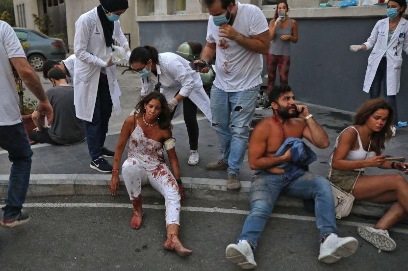 GettyImages 1227910469 - Milagro: escuchan a posible sobreviviente entre escombros, a un mes de masiva explosión en Beirut