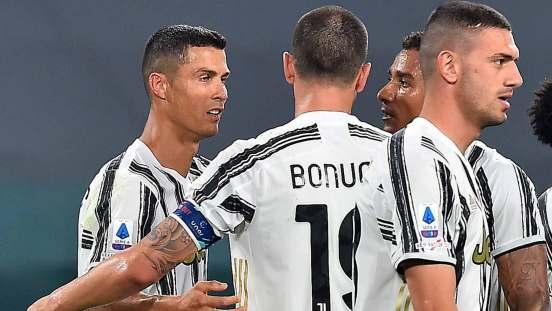 Cristiano Ronaldo celebra su primer gol de la temporada.