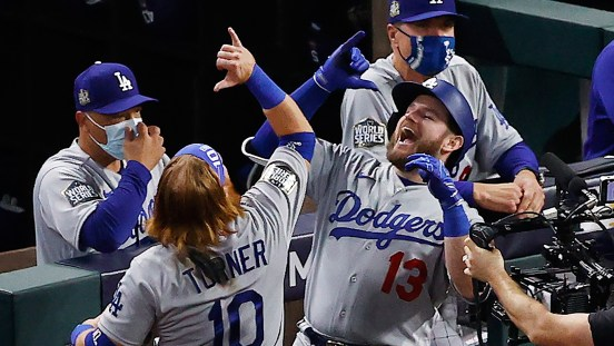 dodgers rays juego 6