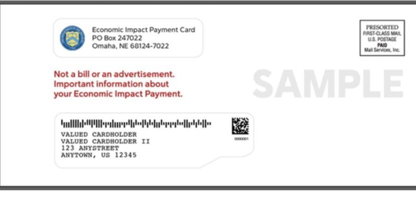 ChequeLetter - Recibí el cheque de estímulo, pero casi se fue a la basura por culpa de un sobre que no parece oficial