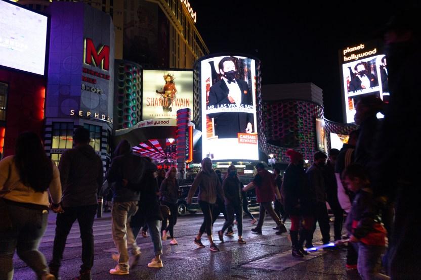 IMG 0437 - Viajero de California compara New York y Las Vegas con Los Ángeles en plena pandemia