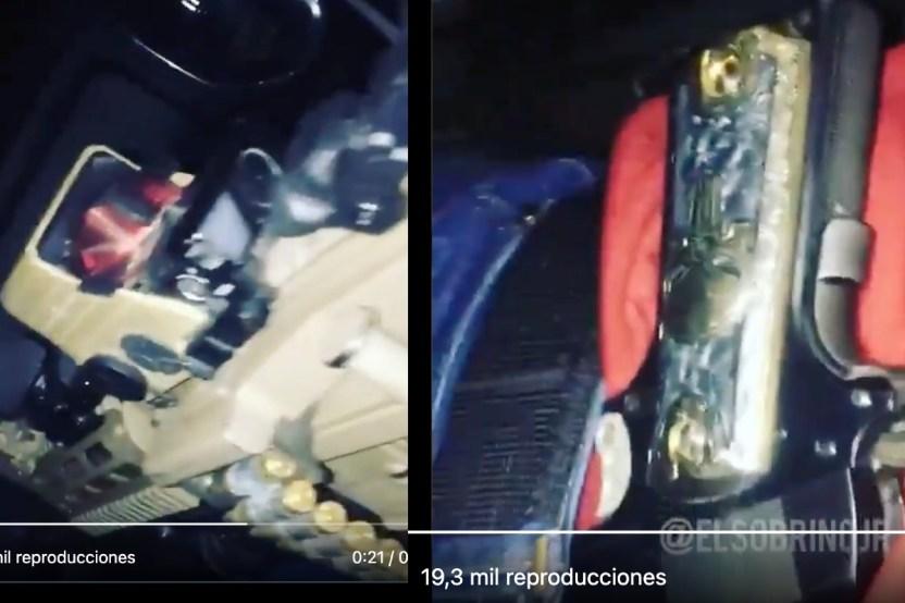 VIDEO  Con narcocorrido y pistola ban%CC%83ada en oro sicario del narco patrulla territorio de Caro Quintero  - VIDEO: Con narcocorrido y pistola bañada en oro, sicario del narco patrulla territorio de Caro Quintero