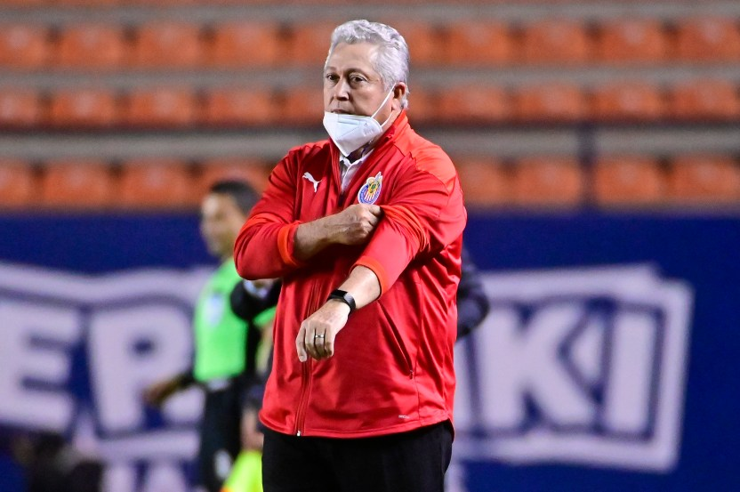 victor manuel vucetich - Víctor Manuel Vucetich señala a sus jugadores por falta de actitud