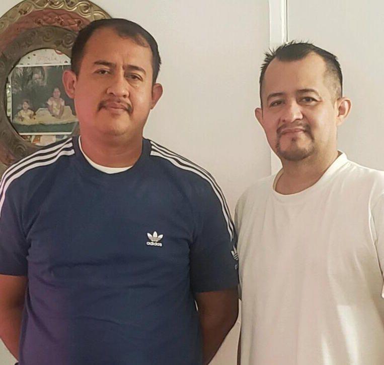 Luis and Manuel Chavarria 1 - Camioneros se quejan ante Cal/OSHA y piden seguridad a las autoridades del Puerto de Los Ángeles