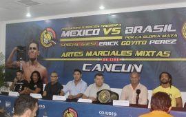 Gala de Artes Marciales Mixtas en Cancún