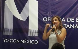 """""""Vámonos moviendo, porque si no, no vamos a alcanzar a nadie"""": Margarita Zavala al PAN"""