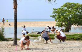 Se suman más de 5 mil solidarenses a la limpieza de 62 km de playas