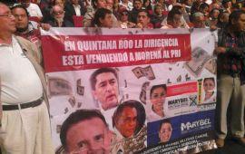 Quejas contra Marybel y Pech llegan a Congreso de MORENA