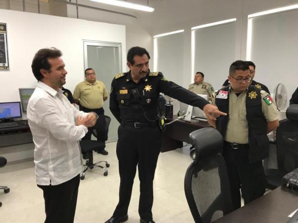 Pedro Joaquín Delbouis visita Yucatán; busca estrategia de seguridad para Cozumel