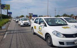"""""""SUJETO A ANÁLISIS"""", veto del gobernador a la Ley de Movilidad, aseguran taxistas"""