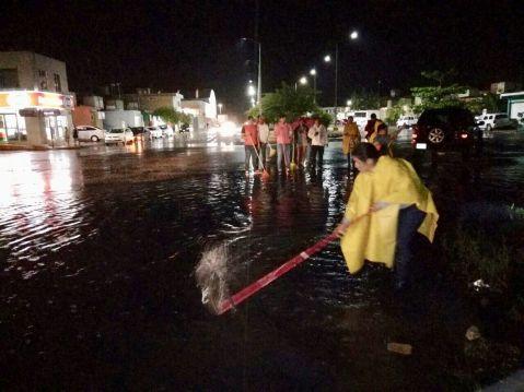 Refuerza Solidaridad brigadas de atención ante lluvias atípicas