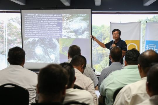 Gobierno de Solidaridad y hoteleros trabajan para hacer frente a temporada de huracanes