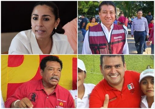 Candidatos de MORENA, denunciados en PGR por complicidad con Borge