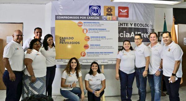 EL FRENTE DOBLA LA APUESTA |  Regidores renuncian a privilegios, y suben la exigencia a sus rivales de campaña