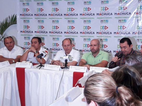 Mario Machuca pone el eje de campaña en la seguridad