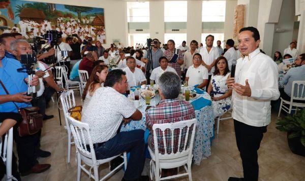 """""""Con mejores decisiones, juntos podemos disminuir la desigualdad"""": Carlos Joaquín"""