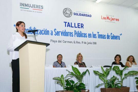 Logra Solidaridad más de medio millón de pesos para proyectos para las mujeres
