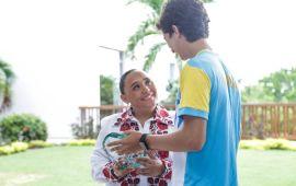 Reconoce Cristina Torres a medallistas olímpicos de Solidaridad