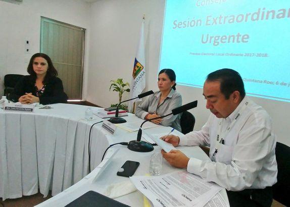 Asegura Ieqroo que busca garantizar certeza de la elección en Solidaridad
