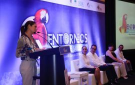 Participa Samaria Angulo en Reunión Nacional de Entornos y Comunidades Saludables