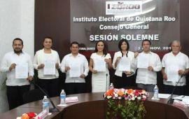 Inicia proceso de renovación en el Ieqroo; serán reemplazados tres consejeros