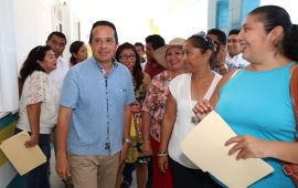 """Se instalarán vallas """"sargaceras"""" en siete municipios de QR"""