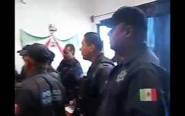 (VIDEO) Corren al futuro mando de la policía de Cancún, cuando estaba en Cuernavaca
