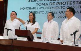 ARRANCA MARA | Varios pri-verdes, pocos morenos, y no más Benito Juárez, son los primeros mensajes