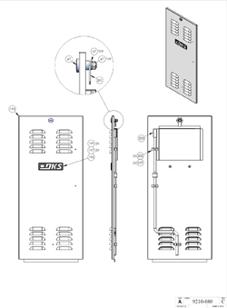 Doorking Parts Slide Gate Operators 9210-080 Doorking