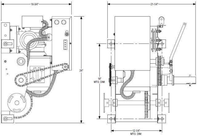 PowerMaster Over Head Door Openers CGH Model