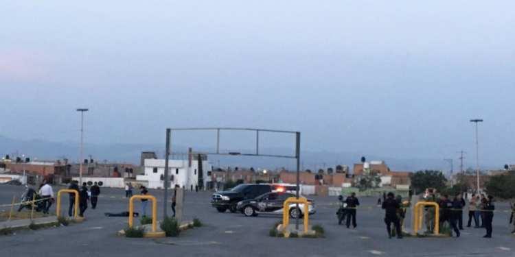 estacionamiento de la Fenapo
