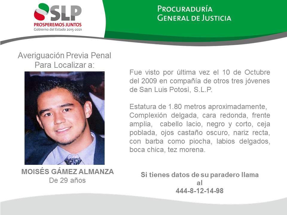 desaparecidos SLP