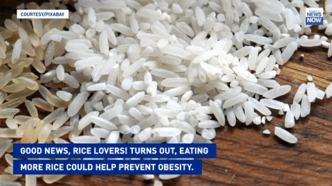 Can eating more rice help prevent obesity? One study says so