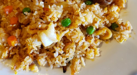 House Fried Rice at LTK's House