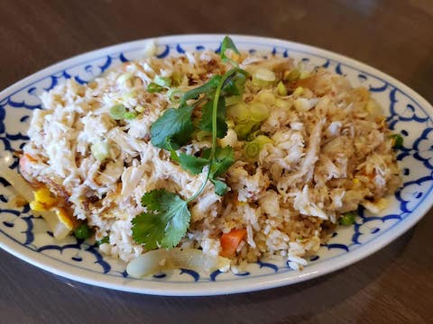 Whiteboard Specials: Crab Fried Rice