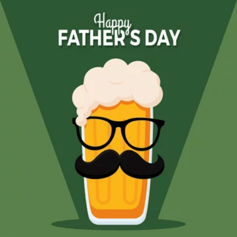 Happy Father's Day! — Buy 1 Beer, Get 1 Free Beer on Us!