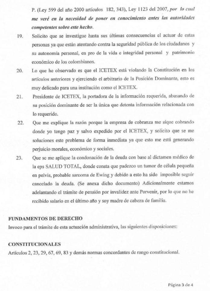 Derecho de Peticion 003