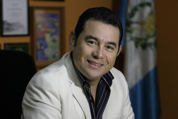 Jimmy Morales fue elegido como Presidente Guatemala