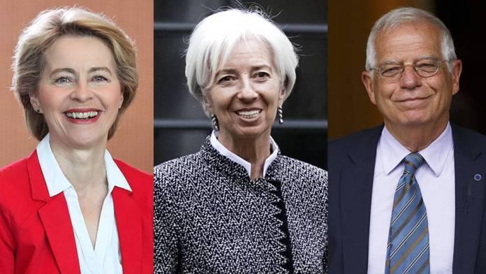 Lagarde y Borrell