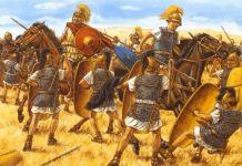 La batalla de Farsalia