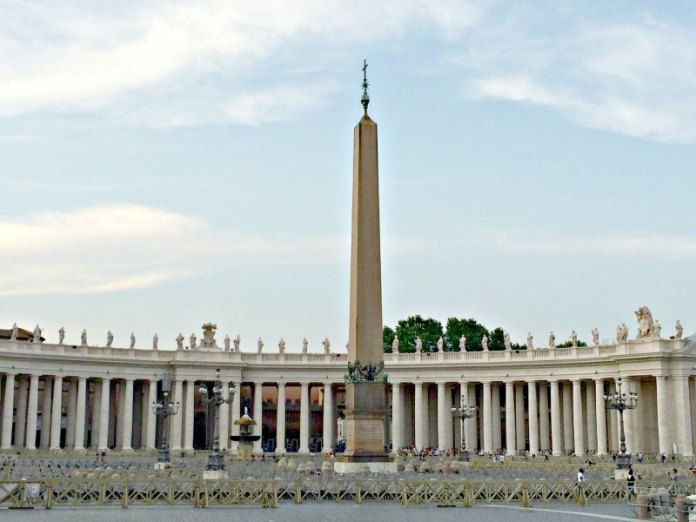 Obeslisco en Roma