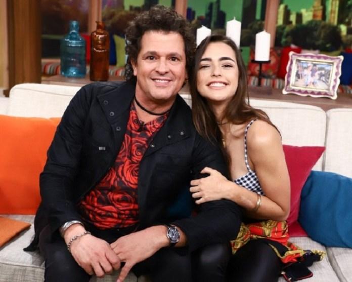 Carlos Vives y su hija
