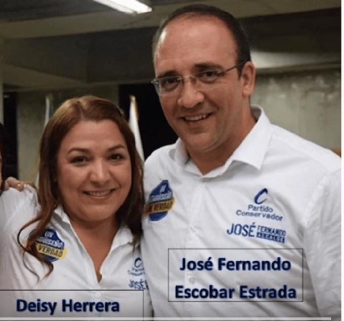 Jose Fernando Escobar y Deisy Herrera