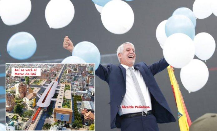 Alcalde peñalosa y el Metro