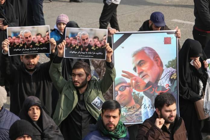 Protestas en Iran