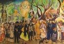 Recorre «Sueño de una tarde dominical en la Alameda Central» con audio en náhuatl